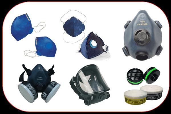 Máscaras de proteção respiratória - Angare 1e3ac97d5b